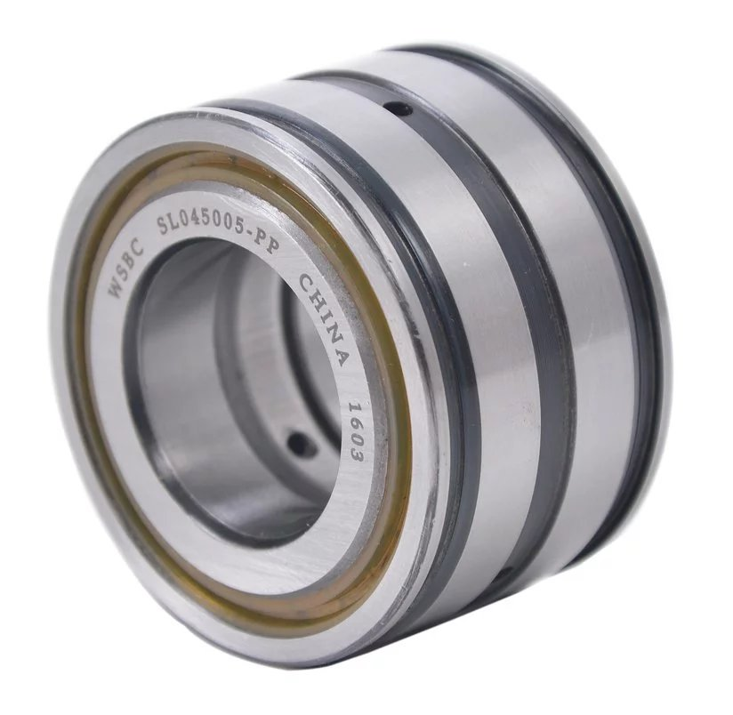 Sealed double row full complement cylindrical roller bearings